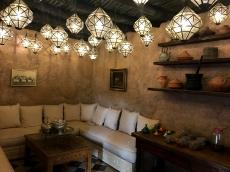 sala del hotel de lujo la sultana de marrakech