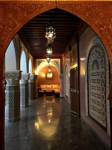 riad de lujo de hotel en marrakech